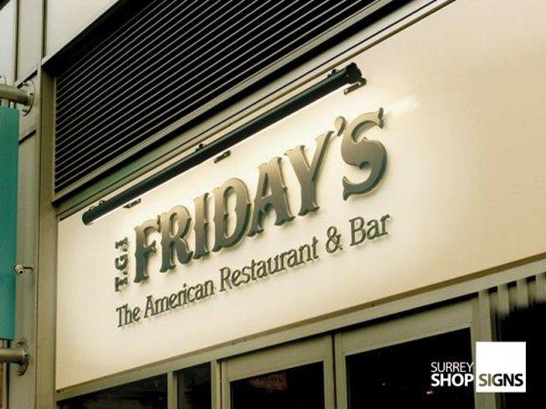 Restaurant Signs Surrey Shop Signs