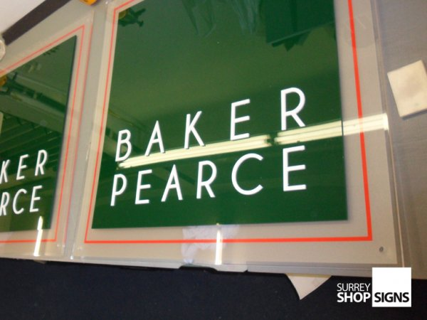 Glass Signs And Acrylic Plaques Surrey Shop Signs