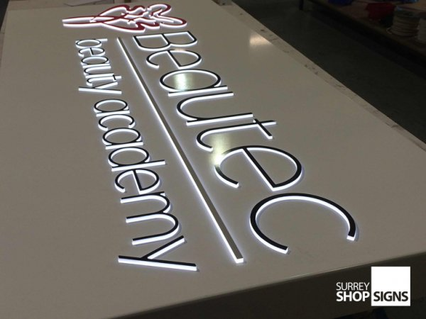 illuminated shop signs for businesses surrey shop signs. Black Bedroom Furniture Sets. Home Design Ideas