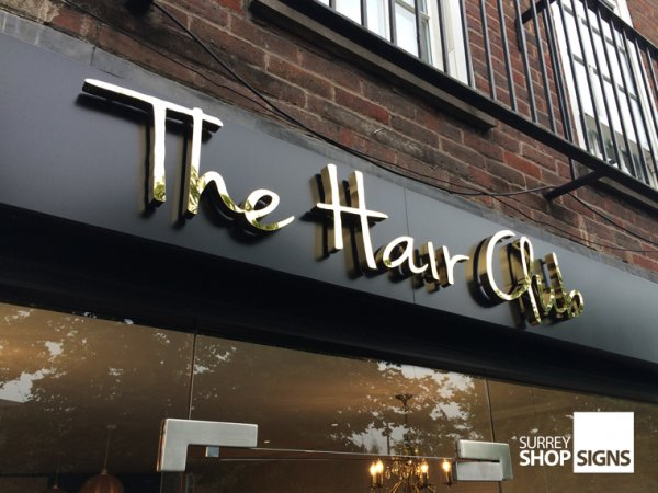 Steel Letters For Signs Metal Letters For Your Business Or Organisation  Surrey Shop Signs