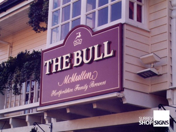 Pub Signs & Classic Signage - Surrey Shop Signs