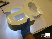 3d illuminated letters GALLERY