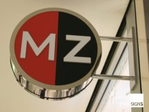 MZ projection sign
