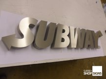 Subway all letters