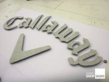 callaway golf office sign GALLERY