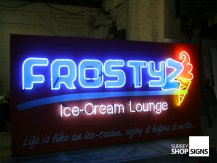 Frosty Neon Sign