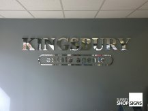 kingsbury office sign
