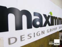 maximm logo all letters