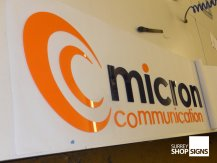 micron comm flat letters