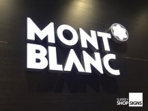 mont blanc built up metal letters GALLERY