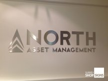 north asset office sign