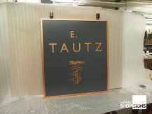Tautz Hanging Sign