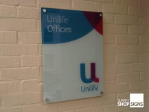 unilife office sign