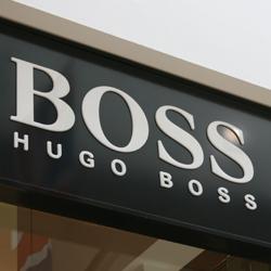 hugo boss sign