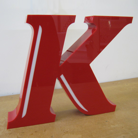 Built Up Acrylic Letters and Logos