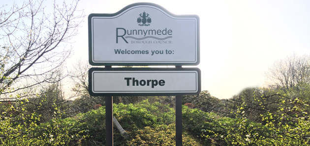 Thorpe Shop Signs
