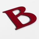 Shop sign letter B