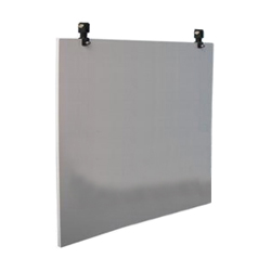 flat aluminium swinging sign