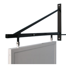 contempory swing sign wall bracket