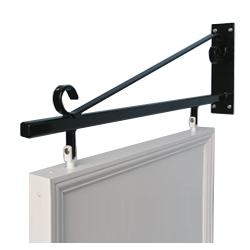 classic swing sign wall bracket