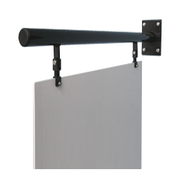 swing sign pole bracket