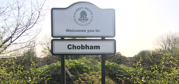 Chobham Shop Signs