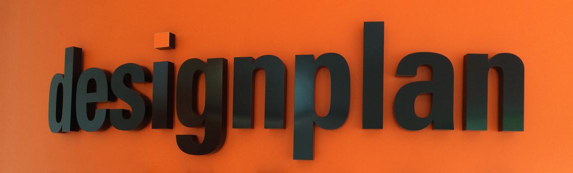 Painted 3d metal shop sign letters surrey shop signs for D sign shop