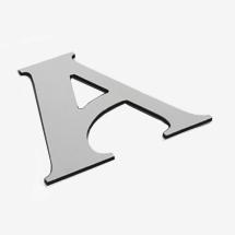 aluminium composite dibond shop letters