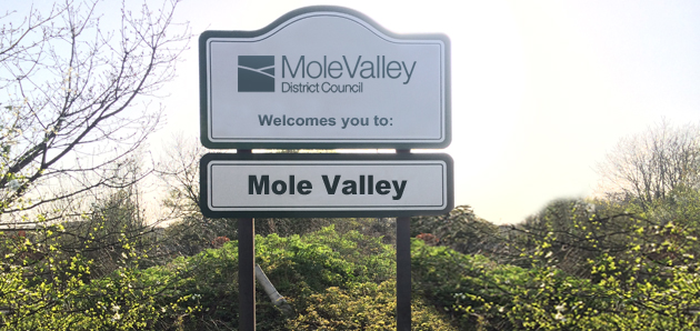Mole Valley Shop Signs
