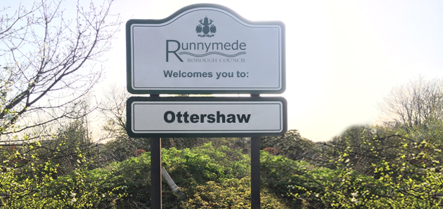 Ottershaw Shop Signs