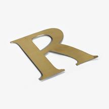 shop sign letter R