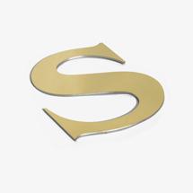 shop sign letter S
