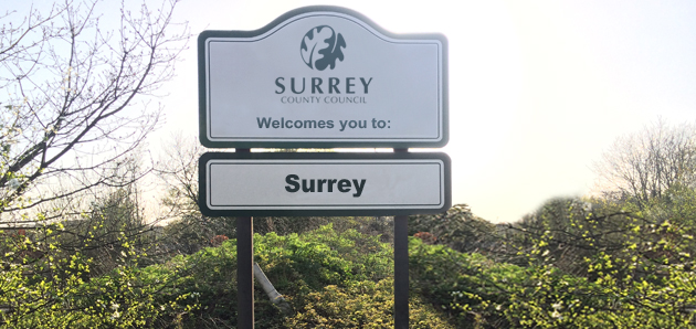 Surrey Business Signs