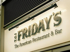 TGI Fridays Shop Sign Trough Light & Shop Sign Lighting Strip Lighting u0026 trough lighting - Surrey Shop ... azcodes.com