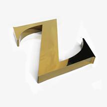 shop sign letter Z