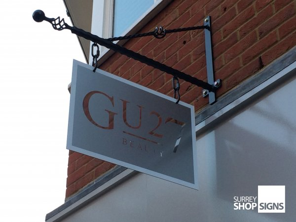Hanging Signs Amp Projection Signs Surrey Shop Signs
