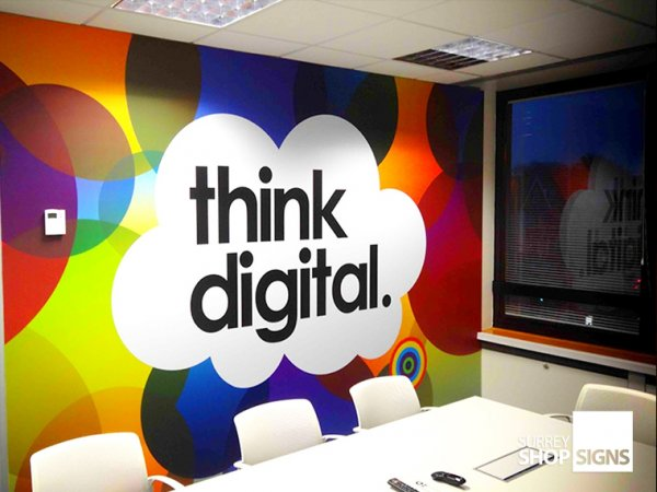 Wall Graphics Wall Wraps Office Signs Amp Vinyl Graphics